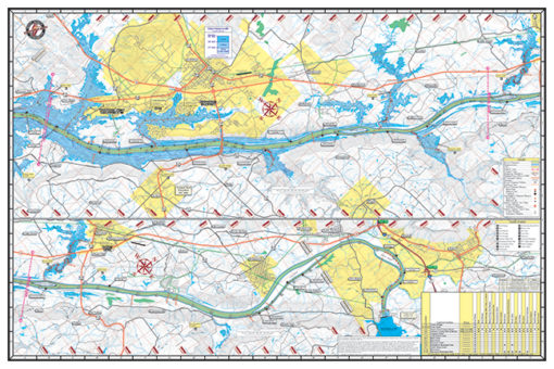 Lake Guntersville Waterproof Lake Map 102 Back