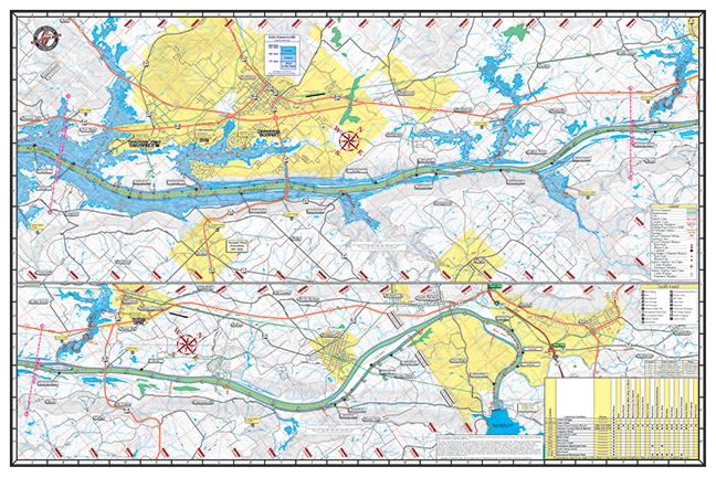 Guntersville 102 Kingfisher Maps Inc