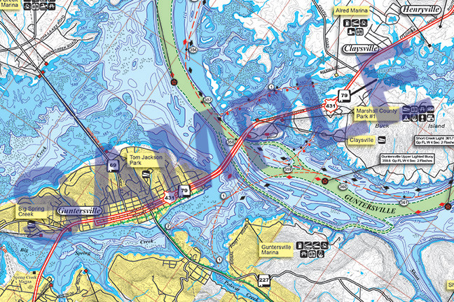 Contour Map Of Lake Guntersville | Motorcycle Review and ...
