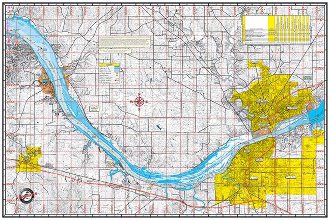 Pickwick Lake 110 Kingfisher Maps Inc