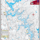 Lake Tuscaloosa Waterproof Lake Map 111