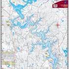 Lake Tuscaloosa Waterproof Lake Map 111