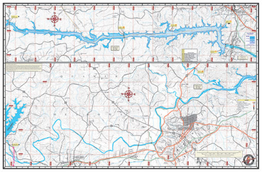 Lake James & Lake Rhodiss Back 1214