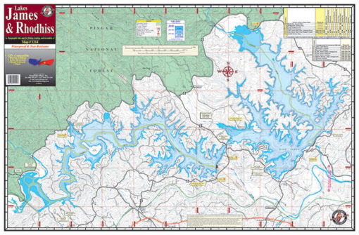 James & Rhodiss Lakes 1214