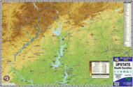 Upstate SC Recreation Map 1601