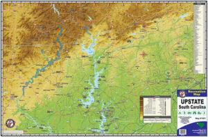 Upstate SC Recreation Map 1601