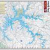 Dale Hollow Lake Waterproof Lake Map 1708