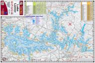 Lake Lanier Waterproof Lake Map 301