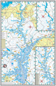 SC Lake Maps – Kingfisher Maps, Inc