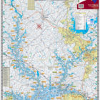 Lake Hartwell Waterproof Lake Map Front 302