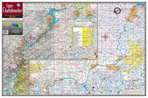 Upper Chattahoochee Waterproof Lake Map 307
