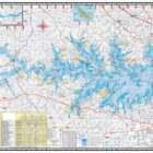 Lake Murray Waterproof Map 311