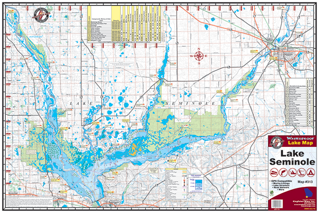 Lake Seminole 313 Kingfisher Maps Inc