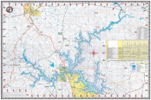 GA Lake Maps – Kingfisher Maps, Inc