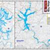 Lake Blue Ridge Lake Burton Waterproof Lake Map 319