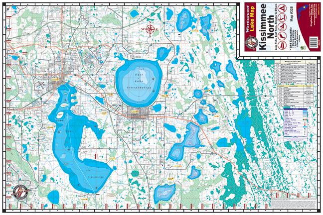 Kissimmee Chain North 328 Kingfisher Maps Inc