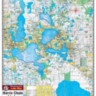 Harris Chain of Lakes 330 Waterproof Lake Map