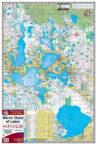 Harris Chain of Lakes 330 Waterproof Lake Map