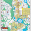 St Johns River South 331 Waterproof Lake Map