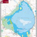 Lake Okeechobee Waterproof Lake Map 334