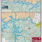 Lake Fontana 342 Waterproof Lake Map