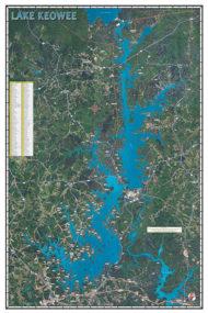 Lake Keowee Poster P324