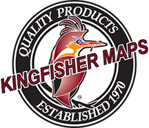 Kingfisher Maps, Inc. Logo