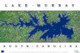Lake Murray Aerial Poster AV105
