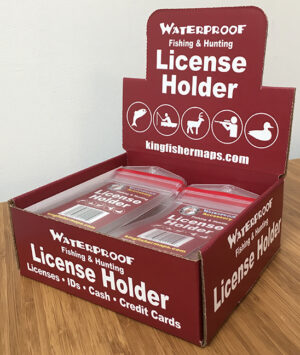 Waterproof License Holder Box 50 Qty