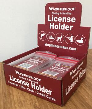 Waterproof License Holder Box 50 Qty