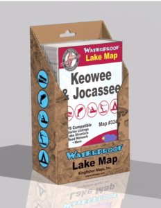 Lake Keowee Lake Jocassee Display Box