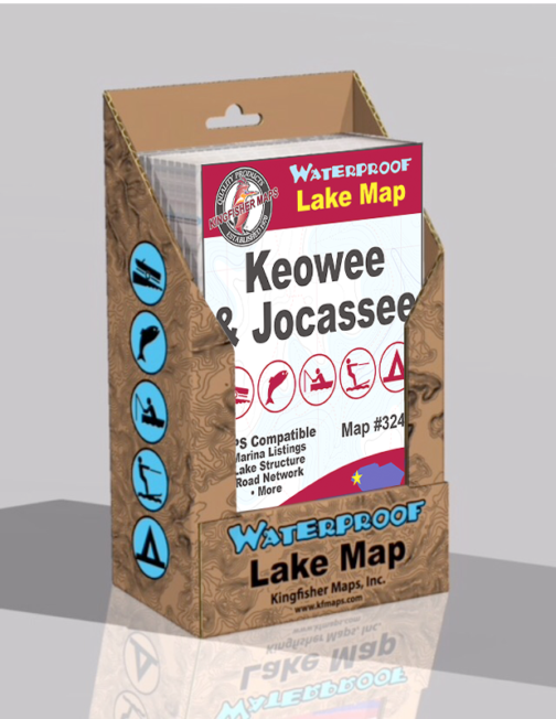 Lake Keowee Lake Jocassee Display Box