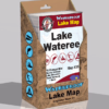 Lake Wateree Waterproof Lake Map 350