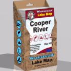 Cooper River Waterproof Lake Map Display Box