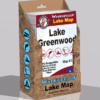 Lake Greenwood Waterproof Lake Map Display Box