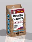 Lake Russell Lake Secession Waterproof Lake Map Display Box