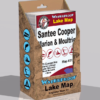 Santee Cooper Lake Marion Lake Moultrie Waterproof Lake Map Display Box