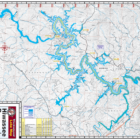 Hiwassee Reservoir Waterproof Lake Map 1210