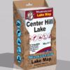 Center Hill Lake Waterproof Lake Map 1700