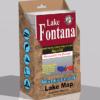 Lake Fontana Waterproof Lake Map 342