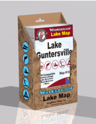 Lake Guntersville Waterproof Lake Map 102