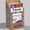 B Everett Jordan Lake Waterproof Lake Map 1202