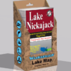 Lake Nickajack Waterproof Lake Map 1742