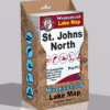 St Johns North Waterproof Lake Map 332