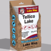 Tellico Lake Waterproof Lake Map 1728