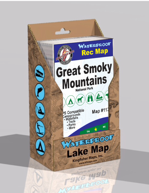 Great Smoky Mountains Waterproof Map EP113