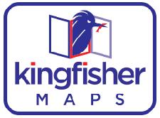 Kingfisher Maps, Inc. Logo